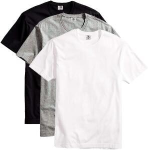 Kit com 3 Camisetas Masculina Básica Algodão Premium | R$56