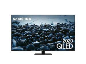 "Smart TV Samsung Q80T 65"" QLED 4K Borda ultrafina modo ambiente 3.0 Preto | R$ 7.244"
