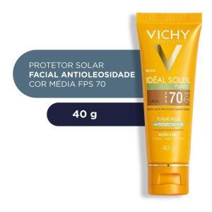 Protetor Solar Vichy Idéal Soleil Purify Morena Fps70 | R$55