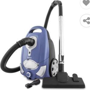 Aspirador de Pó Philco Silencium Easy PAS03AZ 1250W – Azul | R$490
