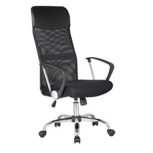 Cadeira Office Detroit Preta - Finlandek | R$285