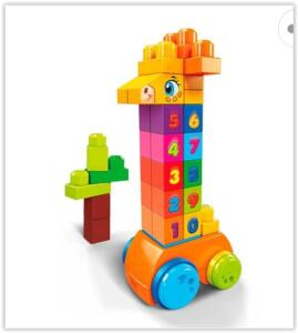 Mega Bloks Mattel – Girafa Conta e Brinca | R$ 57