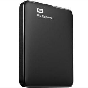 HD WD Externo Portátil Elements USB 3.0 2TB WDBU6Y0020BBK | R$ 400