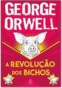 Livro A revolução dos bichos- George Orwell - R$10