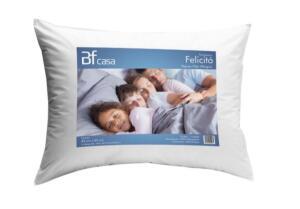 Travesseiro Fibra Siliconada Antialérgico Macio 45x65cm BF Colchões | R$ 10