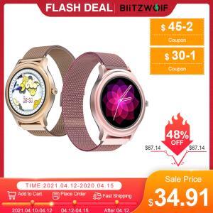 (Novo Usuário)BlitzWolf BW-AH1 Women's Smartwatch Heart Rate Female | R$140