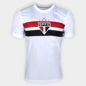 Camisa São Paulo I 2020 s/n° Torcedor Adidas Masculina - Branco+Vermelho | R$120