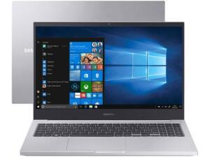 "Notebook Samsung Book X40 Intel Core i5 10210U 8GB 1TB GeForce MX110 - 15,6"" | R$3609"