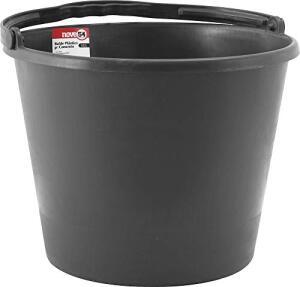 Balde de Plástico para Concreto, Nove 54, 12 L | R$8
