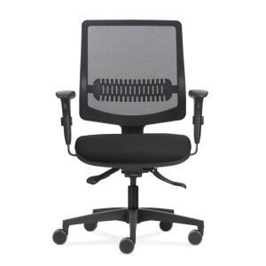 [Cupom + Boleto/Pix] Cadeira Uni All Black | R$599,25