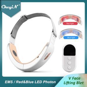 Massageador de Vibração de Levantamento Facial Ckeyin de Esteira para Lifting Facil | R$79
