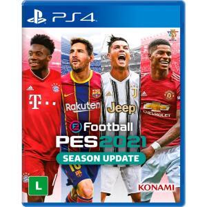 Jogo EFootball PES 2021 - PS4 R$80