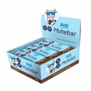 Barra de Proteína Pão De Mel +Mu Muke 12x60g | R$13