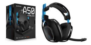 Headset Gamer Sem Fio Astro A50 + Base Para Playstation 4, Pc e Mac | R$1595