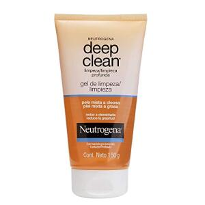 [Recorrência] Gel de Limpeza Profunda Deep Clean, Neutrogena, 150g   R$20