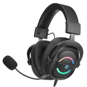 Headset Gamer HP DHE-8006, 7.1 Surround, USB, Black | R$384