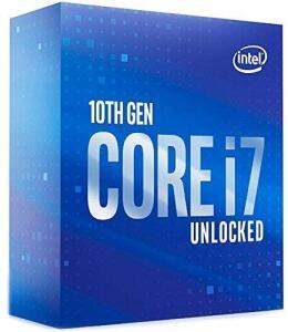 Processador Intel Core i7-10700K, Cache 16MB, 3.8GHz (5.1GHz Max Turbo), LGA 1200 | R$2.249
