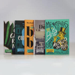 Kit 5 Livros   Para Vestibular / Literatura Brasileira   R$34