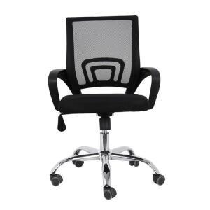 Cadeira de Escritório Com Base Cromada - BY017 | R$229