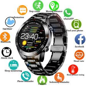 Lige 2020 relógio digital led masculino | R$193