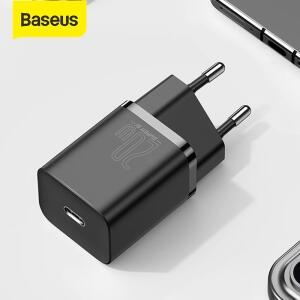 [Primeira Compra] Carregador Baseus super si usb c carregador 20w | R$ 0,06