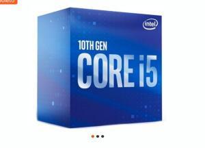 Processador Intel Core i5-10400, Cache 12MB, 2.9GHz (4.3GHz Max Turbo), LGA 1200 | R$1290