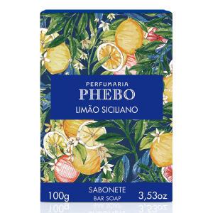[Leve 3 pague 2] Sabonete em Barra Phebo Origens 100g | R$2,39 cada