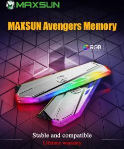 [Primeira compra] MEMÓRIA RAM DDR4 RGB 8GB 3200MHZ CL17 MAXSUN M3 | R$ 216