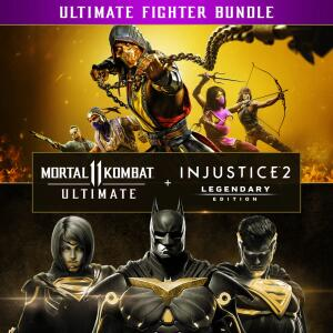 Pacote Mortal Kombat 11 Ultimate + Injustice 2 Ed. Lendária PS4 e PS5   R$180