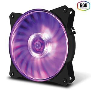 Fan para Gabinete Masterfan 120Mm Mf120L Rgb | R$30
