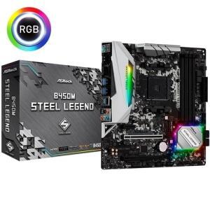 [APP] Placa-Mãe ASRock B450M Steel Legend, AMD AM4, mATX | R$691