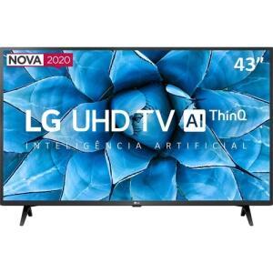 "[AME por 1.900] Smart TV LED 43"" LG 43UN7300 UHD 4K Bluetooth HDR 10 Thing Ai"