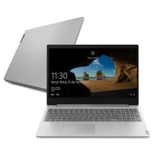 """Notebook Lenovo AMD Ryzen 3-3200U 8GB 256GB SSD Tela 15.6"""" R$2939"""
