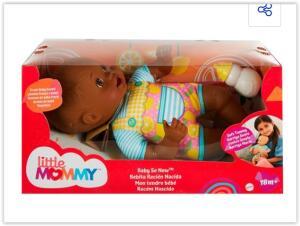 Boneca Little Mommy Recém-Nascida FJL45/GTK50 Mattel | R$ 64