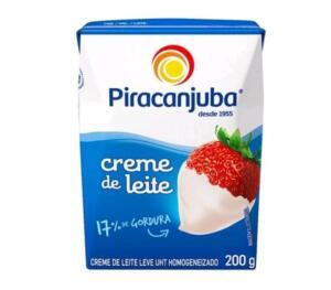 [C. Ouro+App+leve 6 pague 4] Creme de Leite Integral Piracanjuba 200g   R$1,89