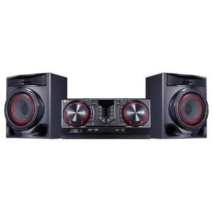 Mini System LG CJ44 XBoom Dual USB Função karaokê e Wireless Sync – 440W | R$679