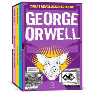 Livro - As obras revolucionárias de George Orwell - Box com 3 livros | R$35