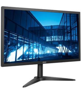 "Monitor LCD 21,5"" AOC Widescreen Full HD 22B1H Preto | R$585"