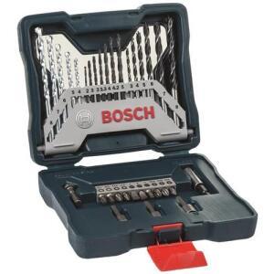 Kit de Pontas e Brocas Bosch X-Line para Parafusar e Perfurar - 33 Unidades | R$ 59