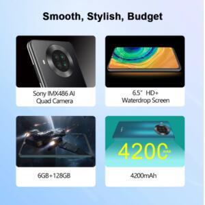 Smartphone Cubot Note 20 PRO 8GB/128 | R$ 668