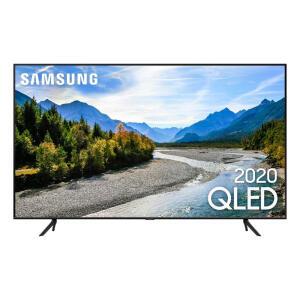 [2600,99 com AME+APP] Smart TV 50'' Samsung QLED 4K 50Q60T, Pontos Quânticos, Borda Infinita, Alexa built in, Controle Único