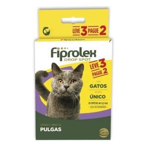 (Filhotes) Fiprolex Gatos Kit Antipulgas Ceva   Leve 3 Pague 2   R$35