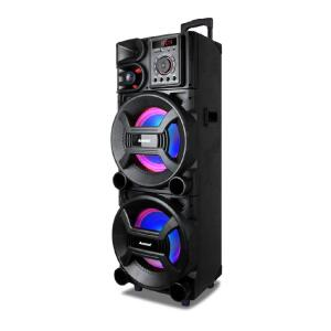 Caixa Amplificada Amvox ACA 1501 New X Bluetooth 1500W   R$1434