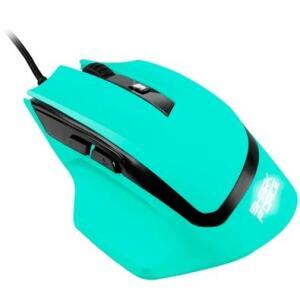 Mouse Gamer Sharkoon Shark Force, LED, 6 Botões, Mint | R$52