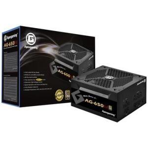 Fonte Apexgaming Power Supply, 650W, 80 Plus Gold, Modular - AG-650M | R$470
