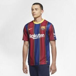 Camisa Nike Barcelona I 2020/21 Torcedor Pro Masculina   R$130