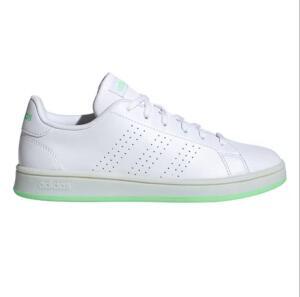 Tênis Adidas Advantage Base Feminino- Branco+ Verde | R$120