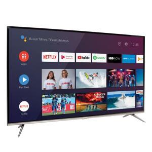 "[REEMBALADO + AME] Smart TV Led 50"" Semp SK8300 4K HDR Android   R$ 1.852"