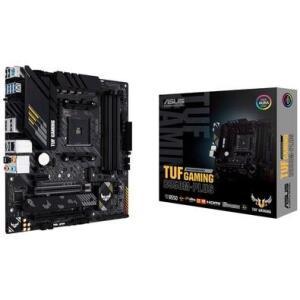 Placa-Mãe Asus TUF Gaming B550M-Plus, AMD AM4, mATX, DDR4 | R$997