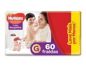 Huggies fralda Inf Roupinha G 60 | R$46